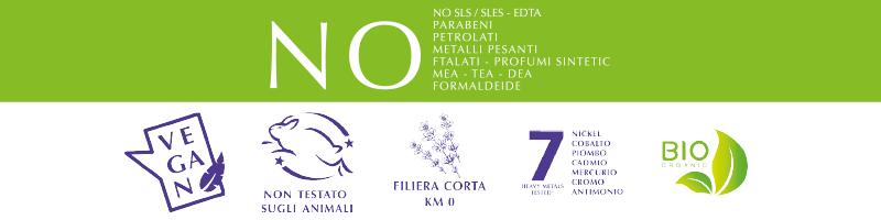 Doccia Crema Lavanda di Toscana Certificazioni