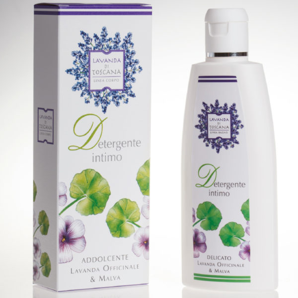 Detergente Intimo Lavanda Officinale & Malva Lavanda di Toscana